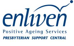 Enliven Presbyterian Support Central logo