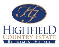 Highfield Country Estate Retirement Village logo