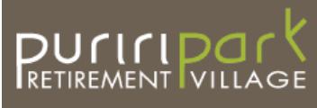 Puriri Park Retirement Village logo